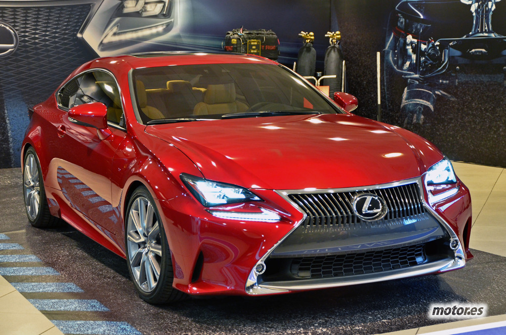 Tertulia: El Lexus RC F Coupé y sus rivales
