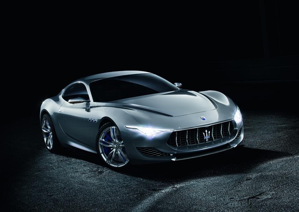El Maserati Alfieri tendrá un motor V6 de 410 CV
