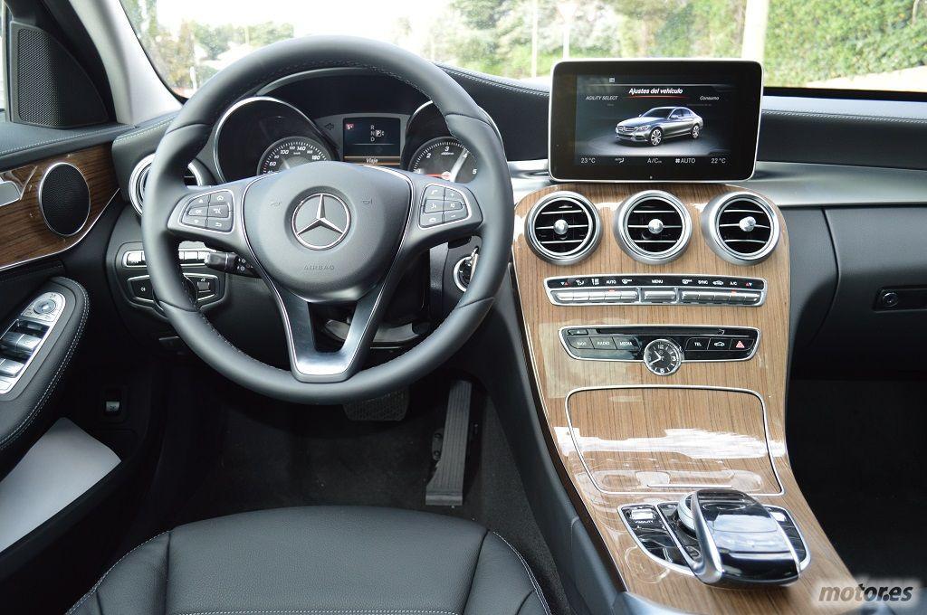 Mercedes benz clase c 2014 toma de contacto for Interior mercedes clase c