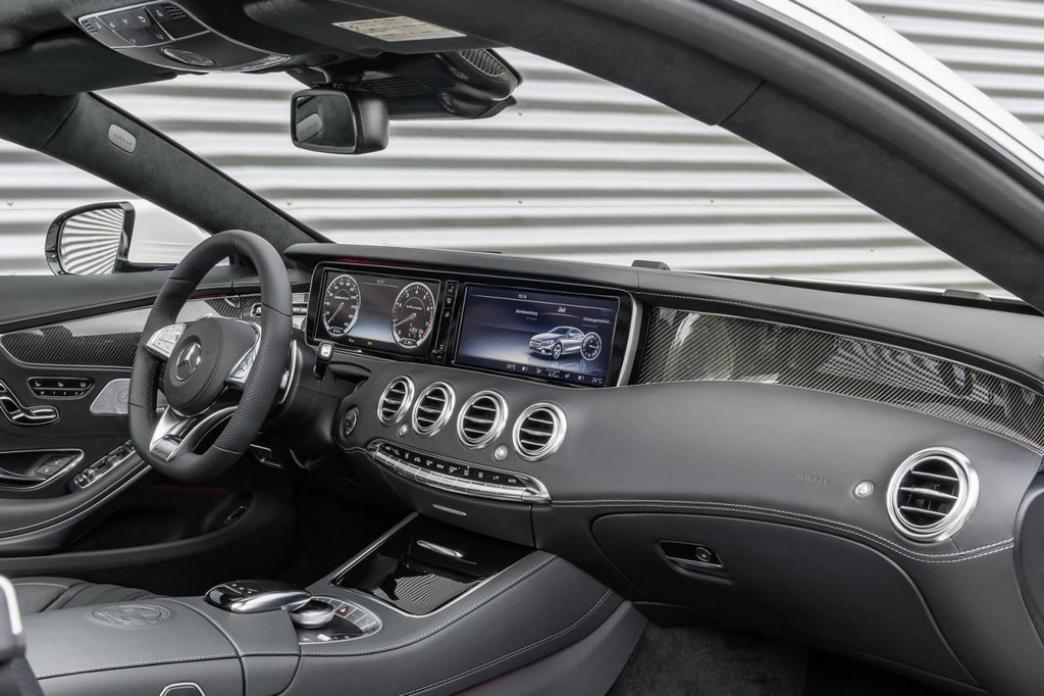 Mercedes S63 AMG Coupé, lujosa deportividad