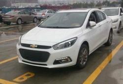 Chevrolet Cruze 2015, primeras imágenes al desnudo desde China