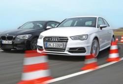 El Audi S3 se enfrenta al BMW M135i