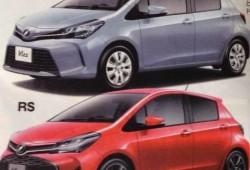 El restyling del Toyota Yaris, filtrado