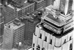 Ford Mustang en el Empire State, celebrando los 50 años