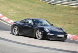Porsche 911 2015, de pruebas en Nürburgring