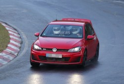 Volkswagen Golf GTI Club Sport, al descubierto en Nürburgring