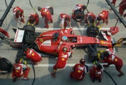 Fernando Alonso y Kimi Raikkonen confirman el progreso del Ferrari F14T