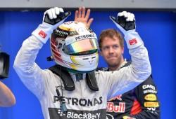 Ni la lluvia evita la pole de Hamilton