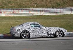 Mercedes AMG GT 2015, fotografiado en Nürburgring