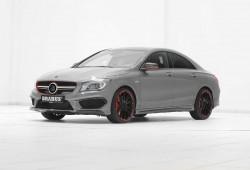 Mercedes CLA 45 AMG, 400 CV gracias a Brabus