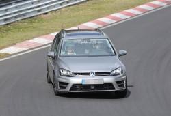 Volkswagen Golf R Variant, de pruebas en Nürburgring