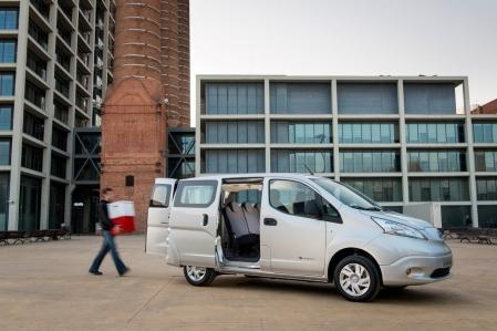 Nissan e-NV200, la furgoneta eléctrica de Nissan