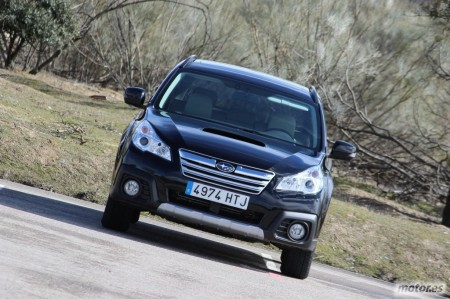 Subaru Outback 2.0TD Lineartronic, introducción (I)