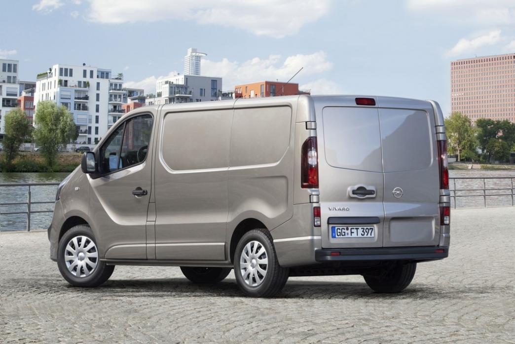 Nueva Opel Vivaro 2014, más grande, potente y eficiente