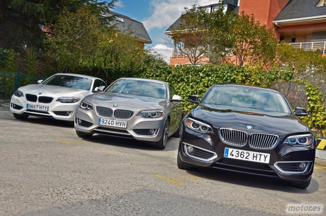 BMW Serie 2 Coupé, en marcha (III): probamos el 220i y el 220d