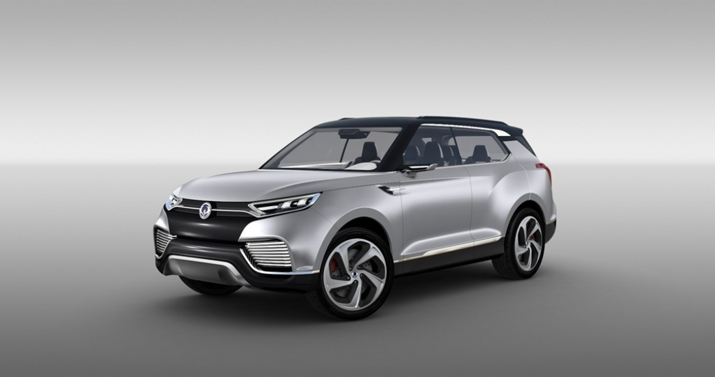 SsangYong XLV Concept, un vistazo al proximo SUV compacto coreano