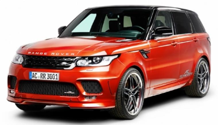 Range Rover Sport, más potente y personal por AC Schnitzer