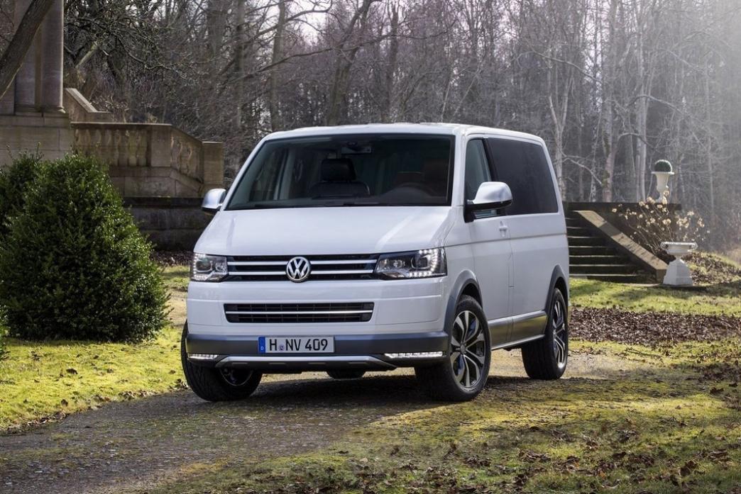Volkswagen Multivan Alltrack, furgoneta de aspecto SUV