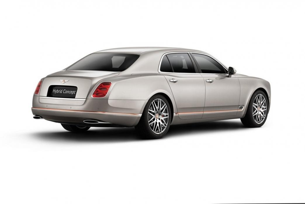 Bentley Mulsanne Hybrid, lujosa eficiencia