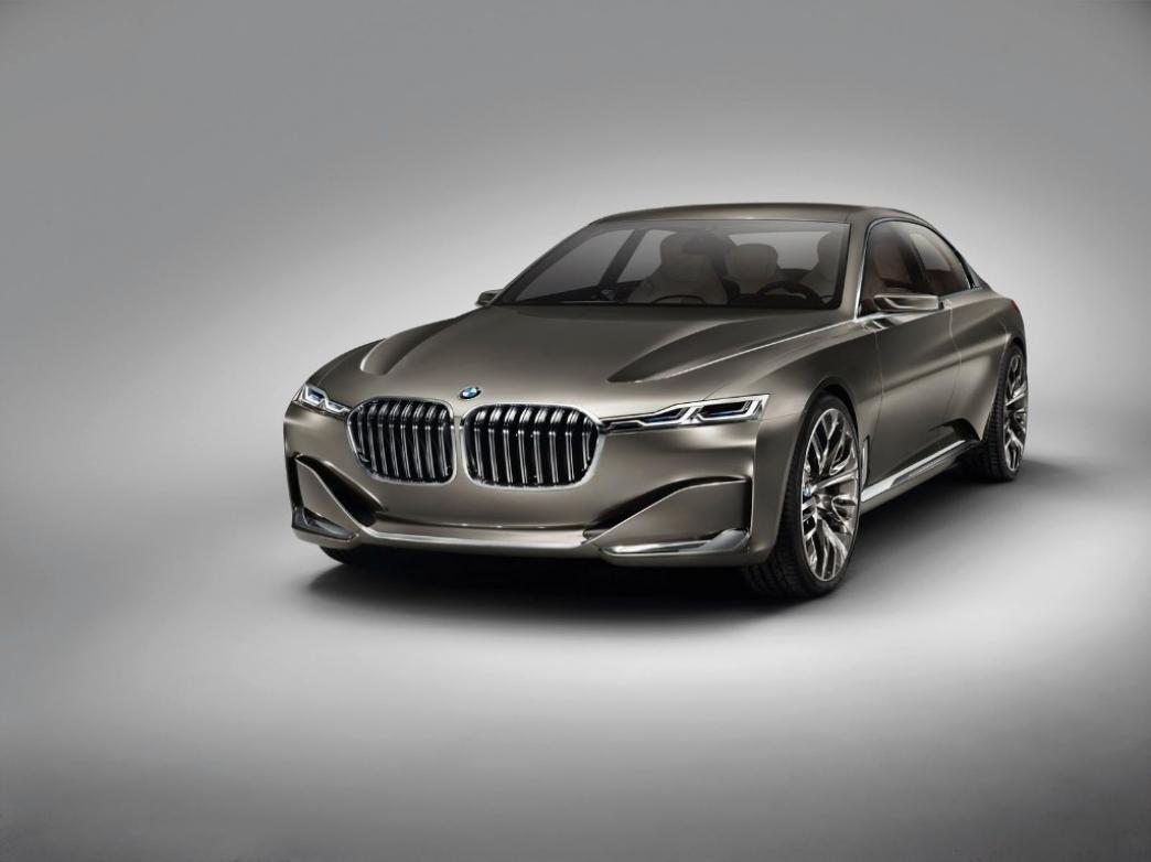 BMW Vision Future Luxury Concept, adelantando el futuro de la Serie 7