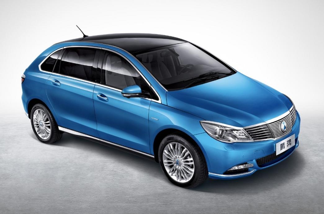 Denza, el coche eléctrico chino de Daimler y BYD
