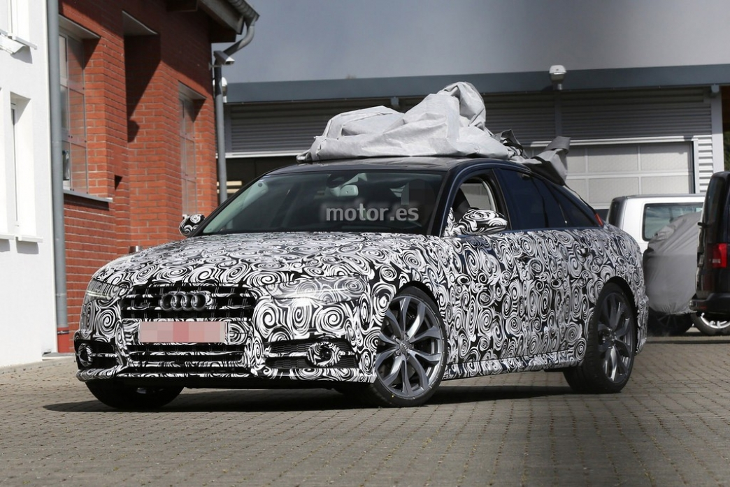 Audi S6 2015, imágenes del facelift
