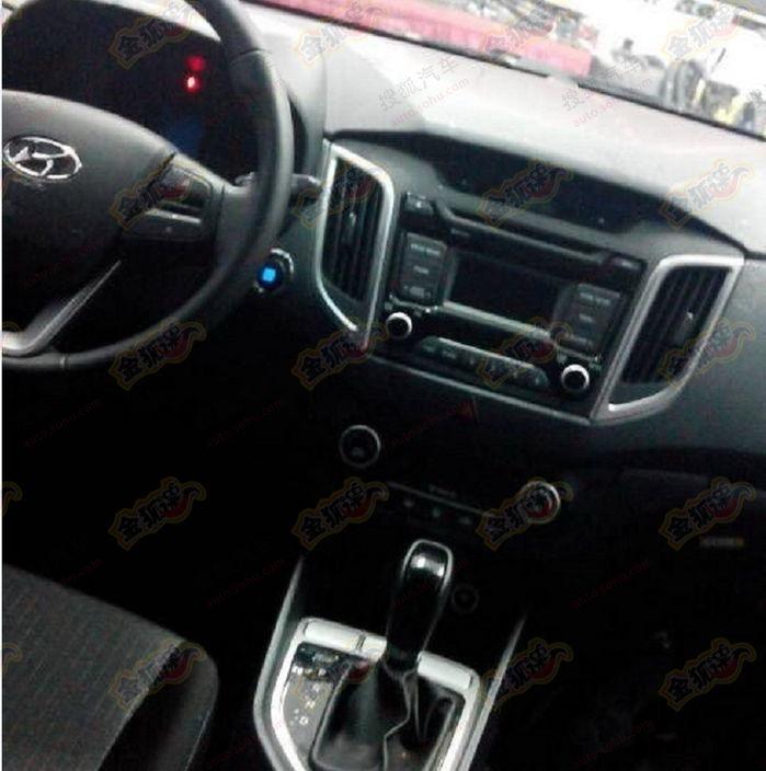 Hyundai Ix25 Im Genes Del Interior Se Filtran En Internet Una Del Exterior Falsa