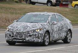Chevrolet Volt 2016, cazado en la carretera