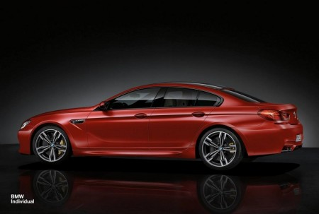 BMW Individual personaliza el M6 Gran Coupé