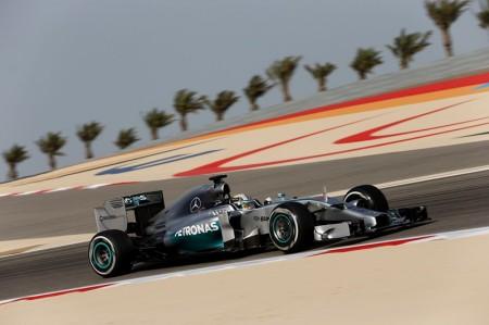 Terminan los test de Bahrein con Hamilton al frente
