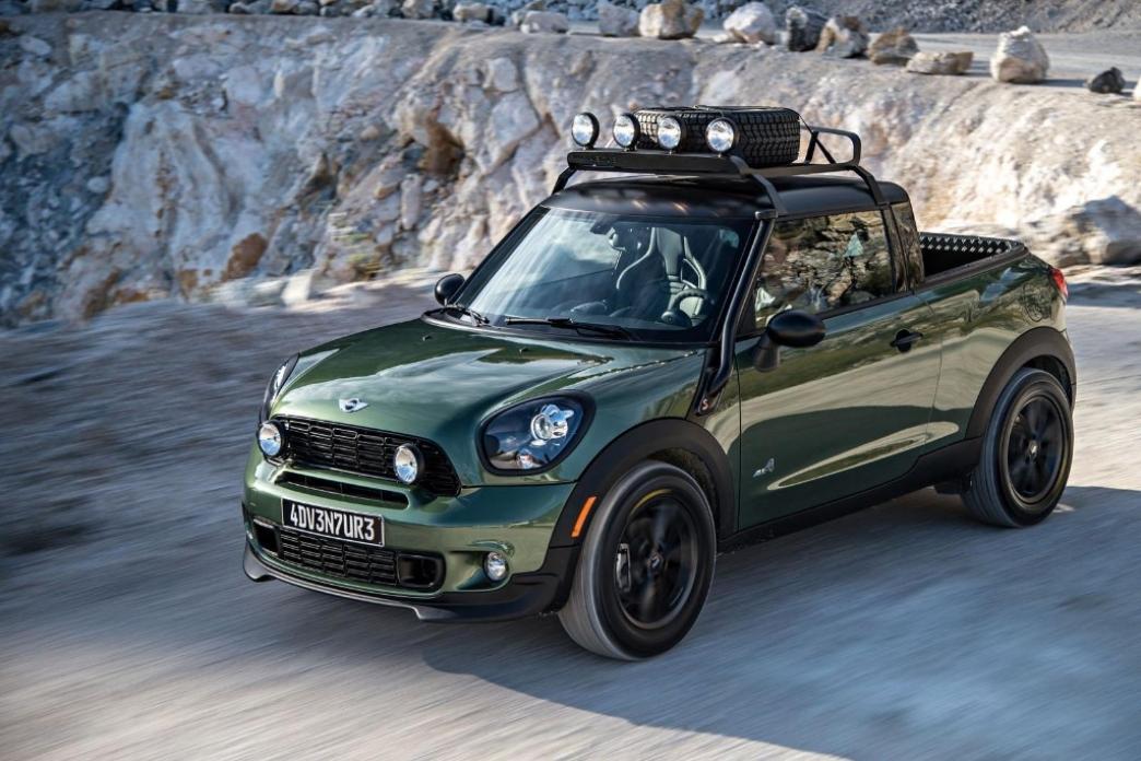 MINI Paceman Adventure, el MINI pick-up que nunca veremos en la carretera