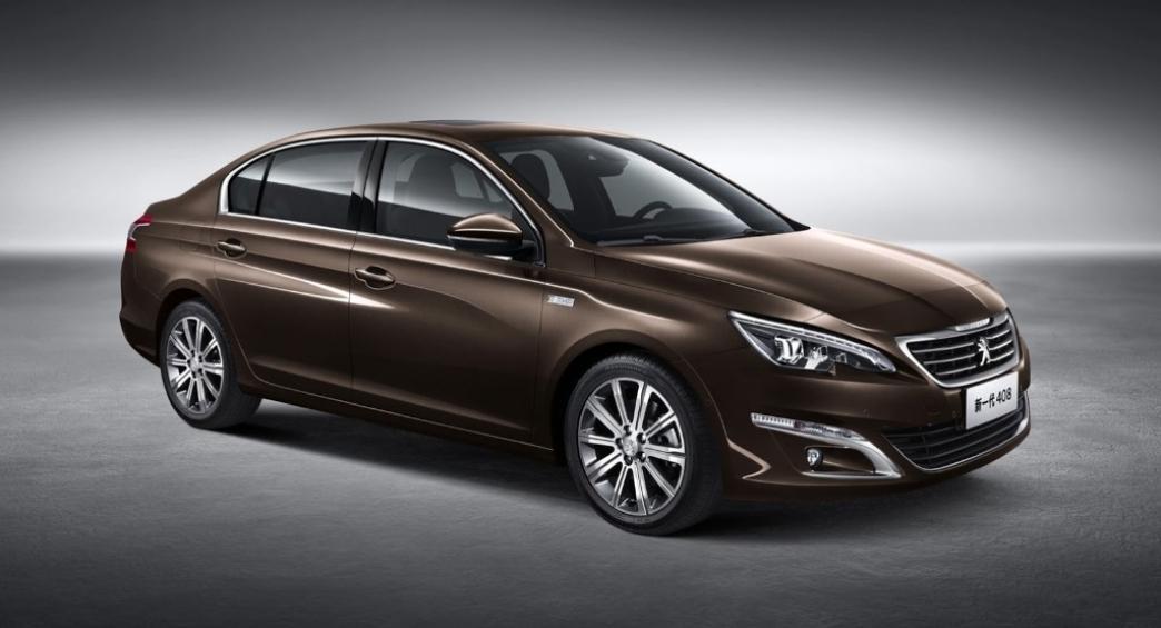 Peugeot 408 Sedan, renovación en el Salón de Pekín 2014