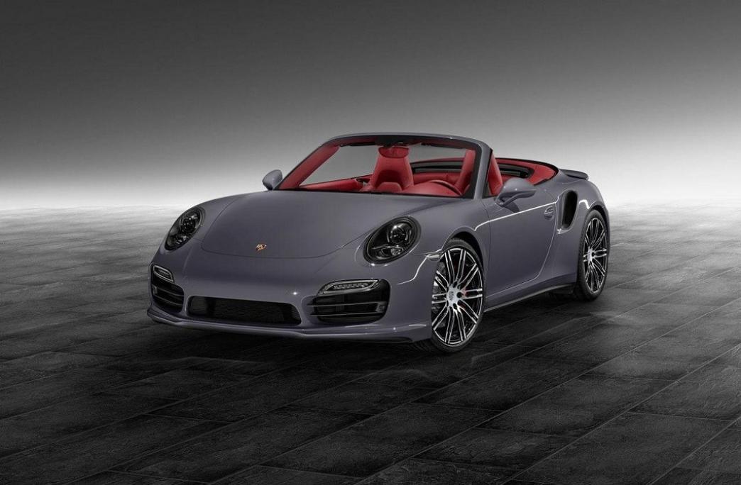 Porsche Exclusive presenta el 911 Turbo Cabriolet
