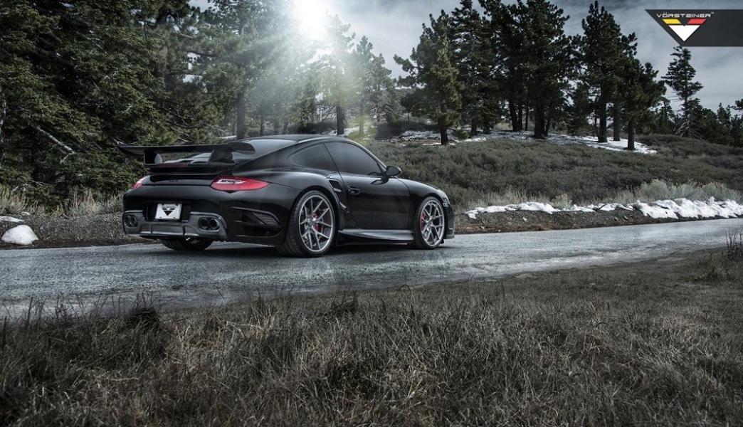 Vorsteiner modifica la anterior generación del Porsche 911 Turbo