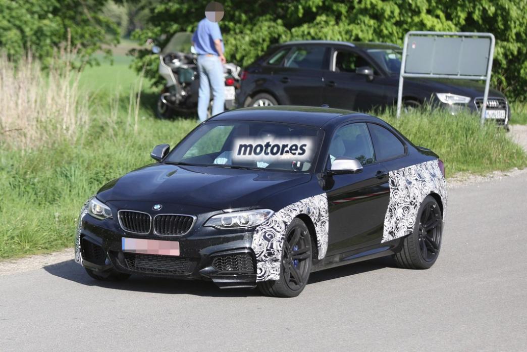 BMW M2, primeras fotos espía del pequeño y potente coupé de la bayerische