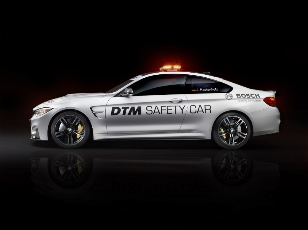 El BMW M4 Coupe también se apunta como 'Safety Car' del DTM 2014