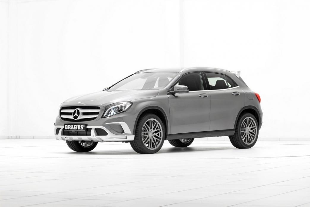 El Mercedes GLA pasa también por manos de Brabus