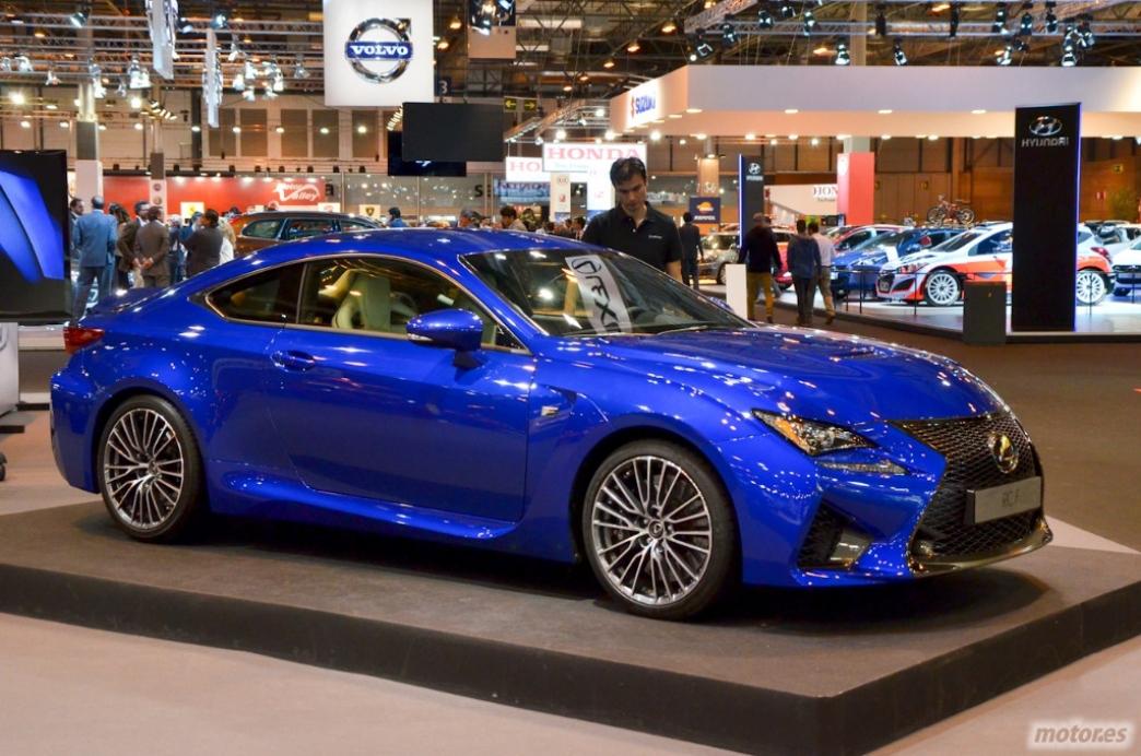 Lexus RC F, en España con un precio base de 86.700 euros