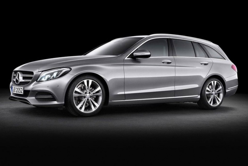 Mercedes Clase C Estate 2014, primeras imágenes de la nueva carrocería familiar