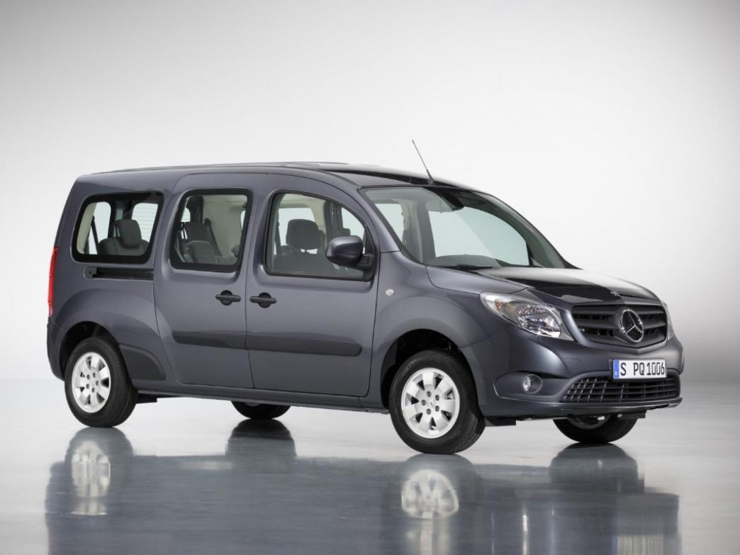 Mercedes completa la gama Citan con la carrocería XL