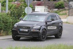 Bentley prueba su SUV sobre el Audi Q7