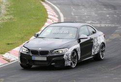 BMW M2 2015, de pruebas en Nurburgring
