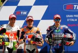 Márquez, Rabat y Rins logran la pole en Mugello