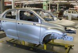Primeras imágenes de la carrocería del Fiat 500X