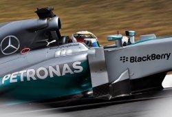 Max Chilton roba a Hamilton el mejor tiempo del primer test en Montmeló