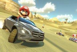 El Mercedes-Benz GLA llegará a Mario Kart 8 en verano