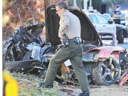 Demandan a Porsche por el accidente mortal de Paul Walker