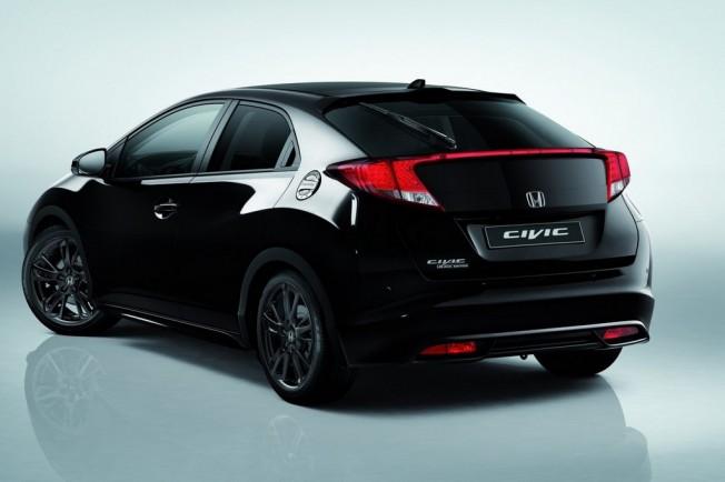 Honda Civic Black Edition Negro Sobre Negro Motor Es