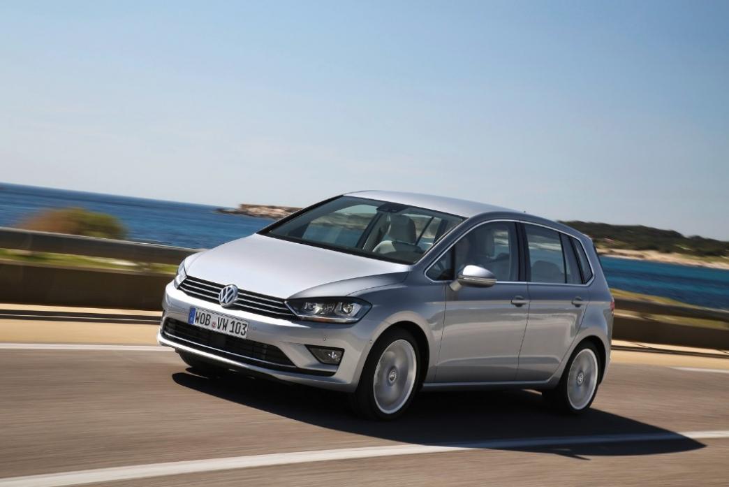 Nuevas fotos y detalles del Volkswagen Golf Sportsvan