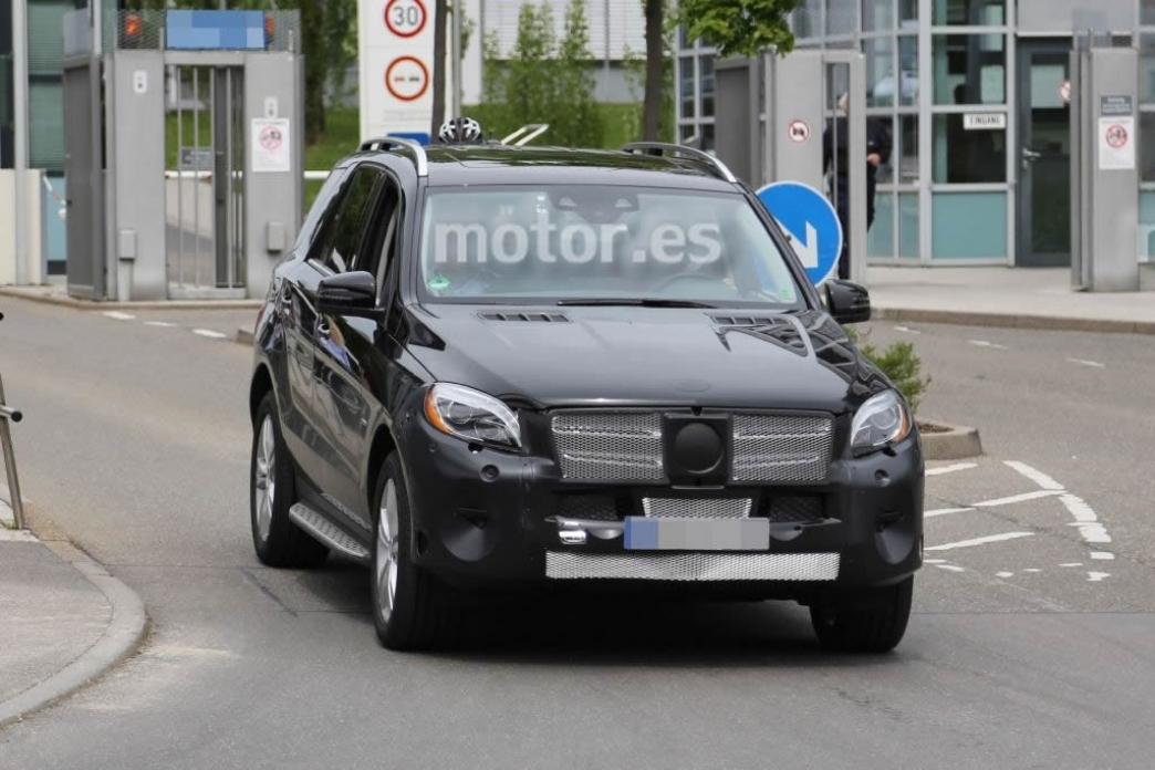 Primeras imágenes del Mercedes ML restyling